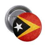 Flag of East Timor Pinback Button