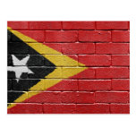 Flag of East Timor Postcard