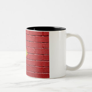 Flag of East Timor Two-Tone Coffee Mug