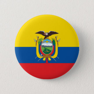 Flag of Ecuador Button
