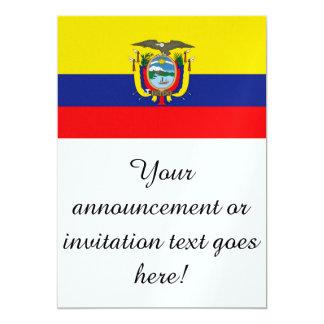 Flag of Ecuador Card
