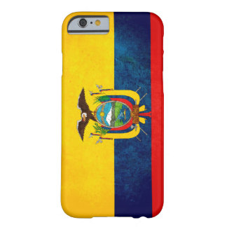 Flag of Ecuador Barely There iPhone 6 Case