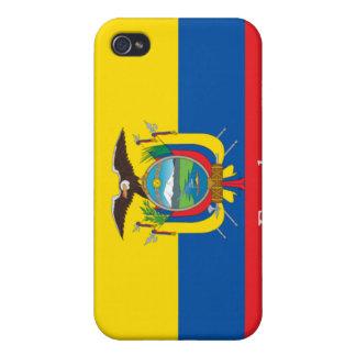 Flag of Ecuador Cover For iPhone 4