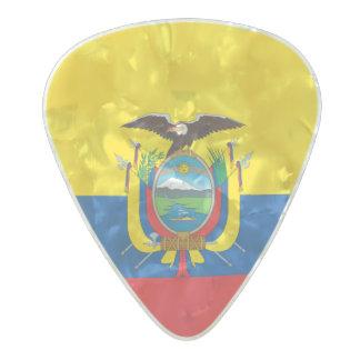 Flag of Ecuador Guitar Picks