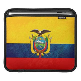 Flag of Ecuador iPad Sleeve