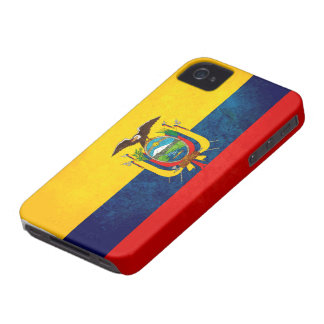 Flag of Ecuador iPhone 4 Case
