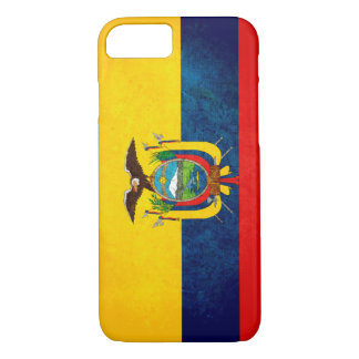Flag of Ecuador iPhone 7 Case