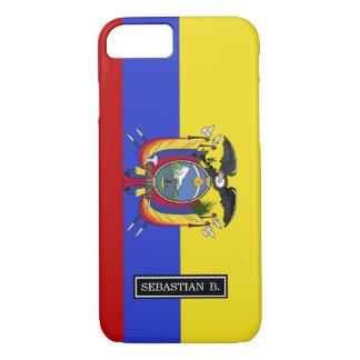 Flag of Ecuador iPhone 7 Case