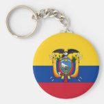 Flag of Ecuador Keychain