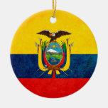 Flag of Ecuador Ornaments