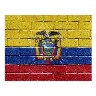 Flag of Ecuador Postcard