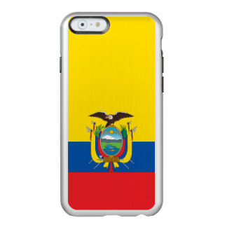 Flag of Ecuador Silver iPhone Case