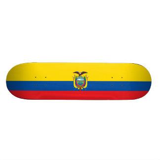 Flag of Ecuador Skateboard Deck