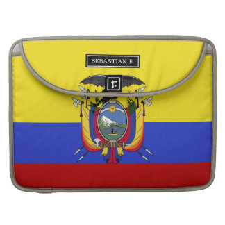 Flag of Ecuador Sleeve For MacBook Pro