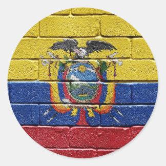 Flag of Ecuador Sticker