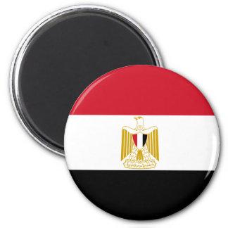 Flag of Egypt 2 Inch Round Magnet