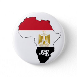 Flag of Egypt Map of Africa Internet Button Badge button