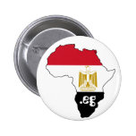 Flag of Egypt Map of Africa Internet Button Badge