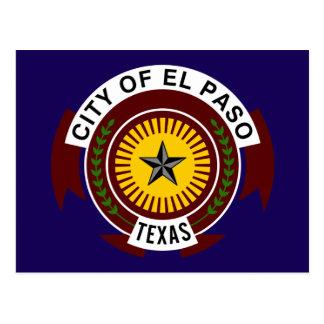 Flag of El Paso Postcard