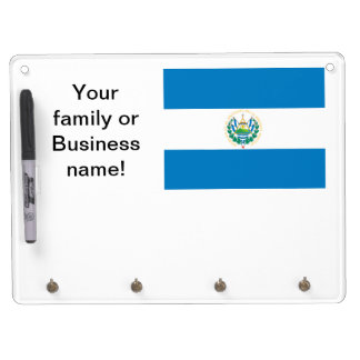 Flag of El Salvador Dry-Erase Whiteboard