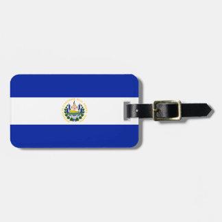 Flag of El Salvador Easy ID Personal Bag Tag
