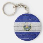 Flag of El Salvador Key Chains
