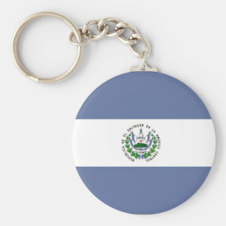 Flag of El Salvador Keychain