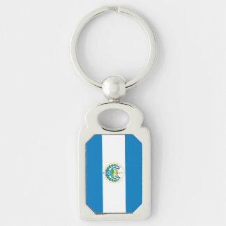 Flag of El Salvador Keychain