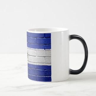 Flag of El Salvador Magic Mug