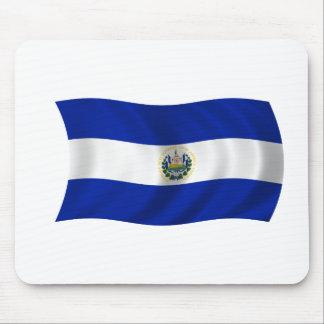 Flag of El Salvador Mouse Pad