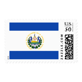 Flag of El Salvador, National Coat of Arms Postage
