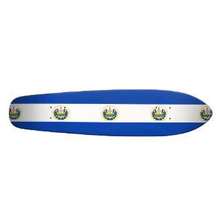 Flag of El Salvador, National Coat of Arms Skateboard Deck