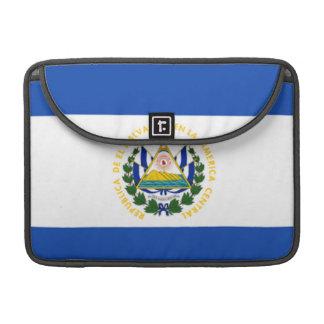 Flag of El Salvador, National Coat of Arms Sleeve For MacBook Pro
