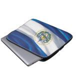 Flag of El Salvador Neoprene Laptop Sleeve 13 inch