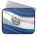 Flag of El Salvador Neoprene Laptop Sleeve 15 inch