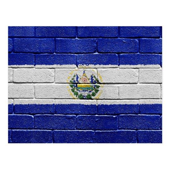 Flag of El Salvador Postcard