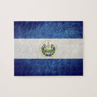 Flag of El Salvador Jigsaw Puzzles