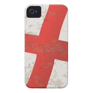 Flag of England and Saint George Grunge iPhone 4 Case
