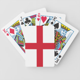 Flag of England Bicycle Playing Cards