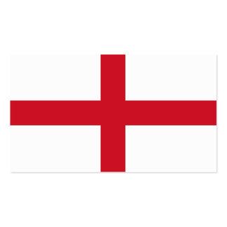 Flag of England business cards