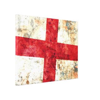 Flag of England Canvas Print