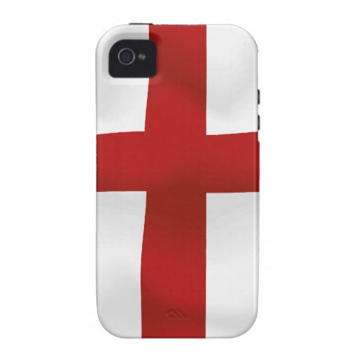 Flag Of England Case-Mate iPhone 4 Cover
