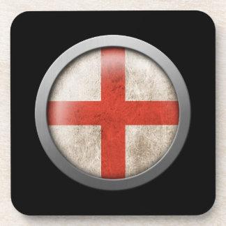 Flag of England Disc Coaster