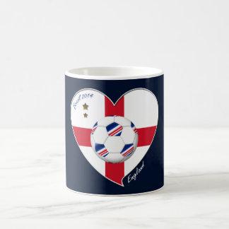 Flag of ENGLAND SOCCER of world 2014 Coffee Mug