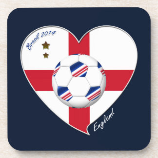Flag of ENGLAND SOCCER of world 2014 Coasters