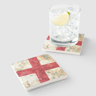 Flag of England Stone Coaster