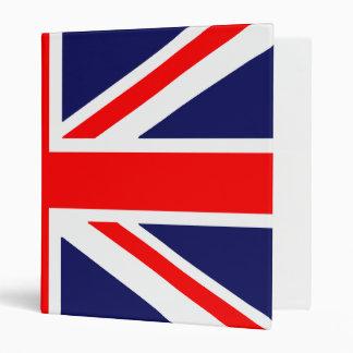 Flag Of England - Wrap Around 3 Ring Binder