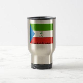Flag of Equatorial Guinea 15 Oz Stainless Steel Travel Mug