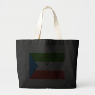 Flag of Equatorial Guinea Tote Bags