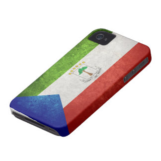 Flag of Equatorial Guinea iPhone 4 Covers